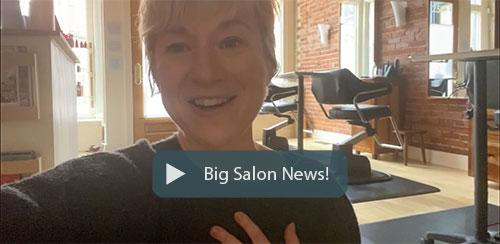 Big salon news!