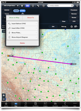 Redesigned route edit bubble popover