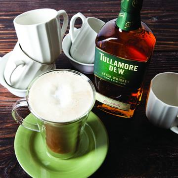 Irish Coffee with Tullamore Dew