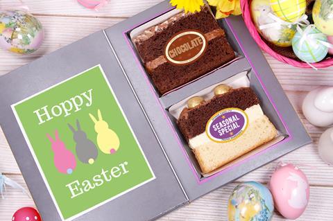 Easter cake card
