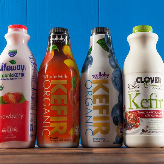 Lifeway, Wallaby and Clover Kefir