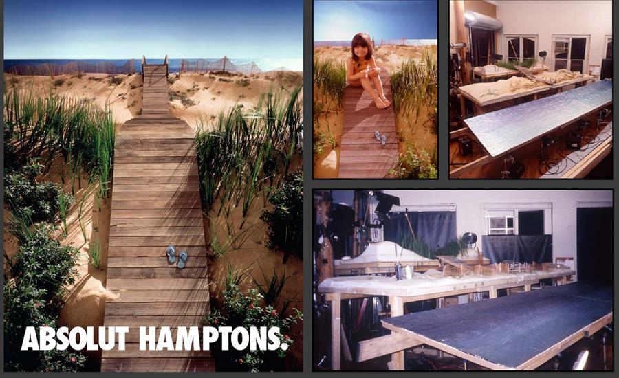 Hamptons Absolut Ad