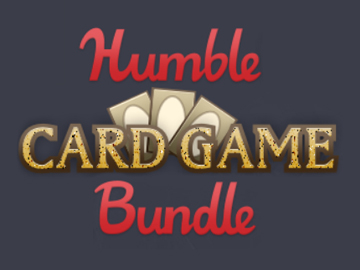 Humble Bundle card game logo.