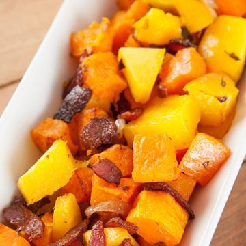 butternut mango hash