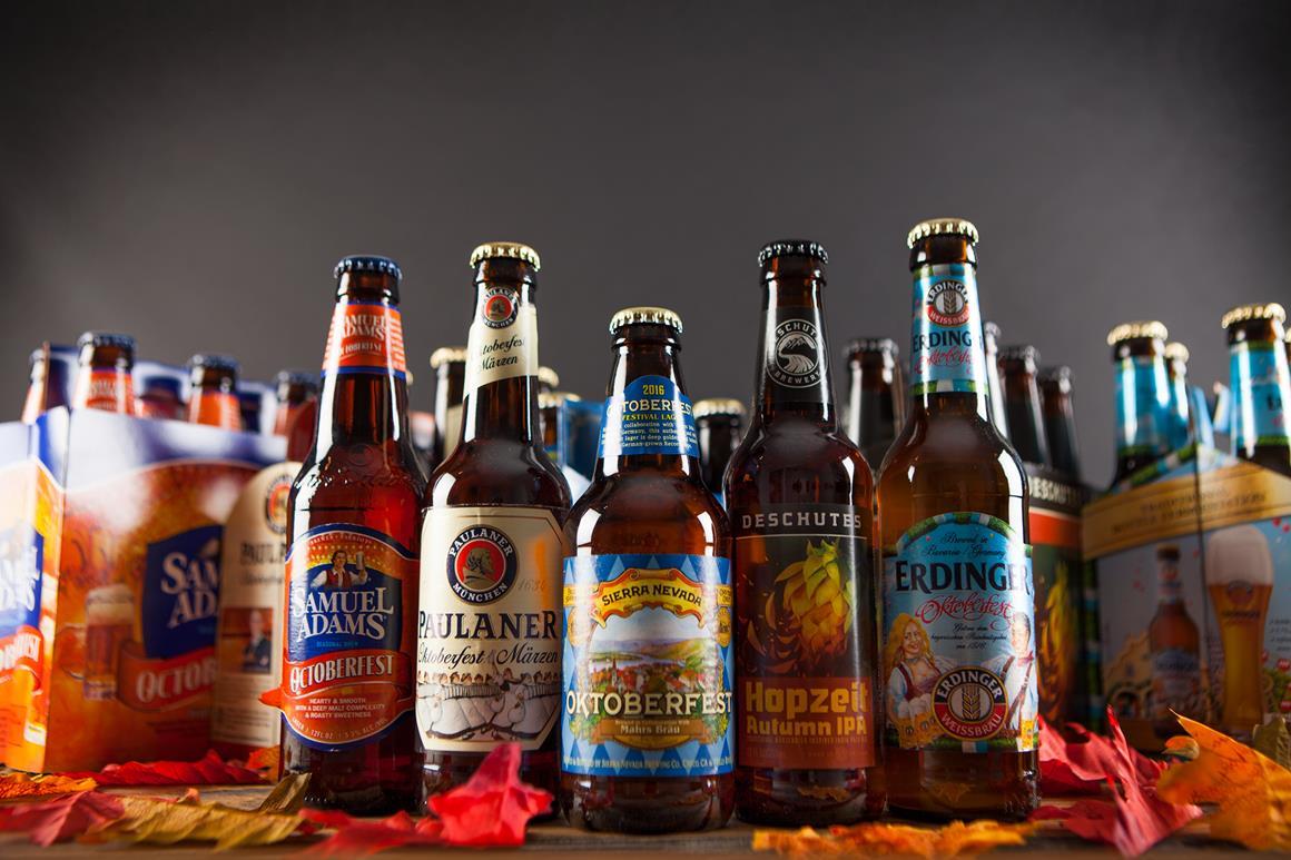 Oktober fest beers by Samuel Adams, Pauline, Sierra Nevada, Deschutes and Erdinger