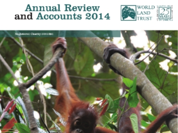 WLT 2014 Annual Review front cover.