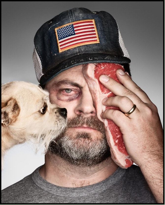 Nick Offerman portrait