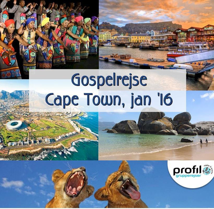 Gospelrejse til Cape Town