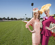 Fashion at the Melbourne cup