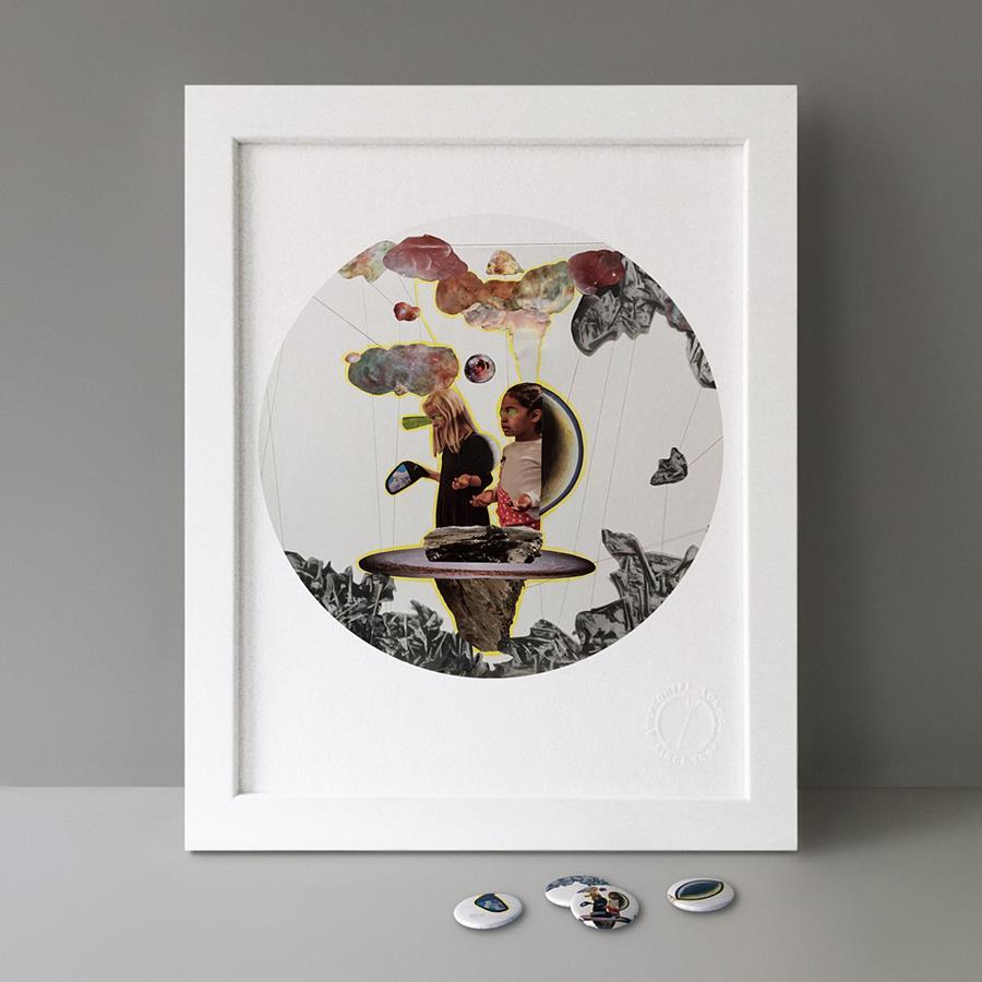 By Lea Wülferth from B.I.O. Series 19 / Button Badge Motif Print