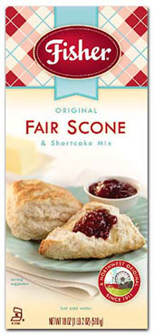 Fisher fair scone mix
