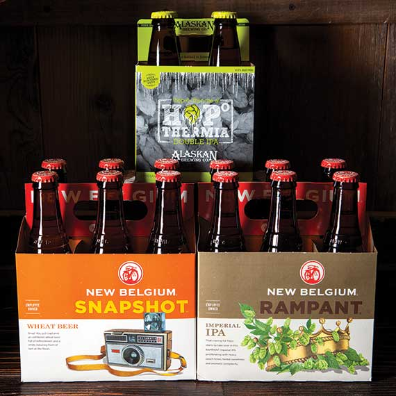 New Belgium Brewing and Alaskan Brewing Co. Beers