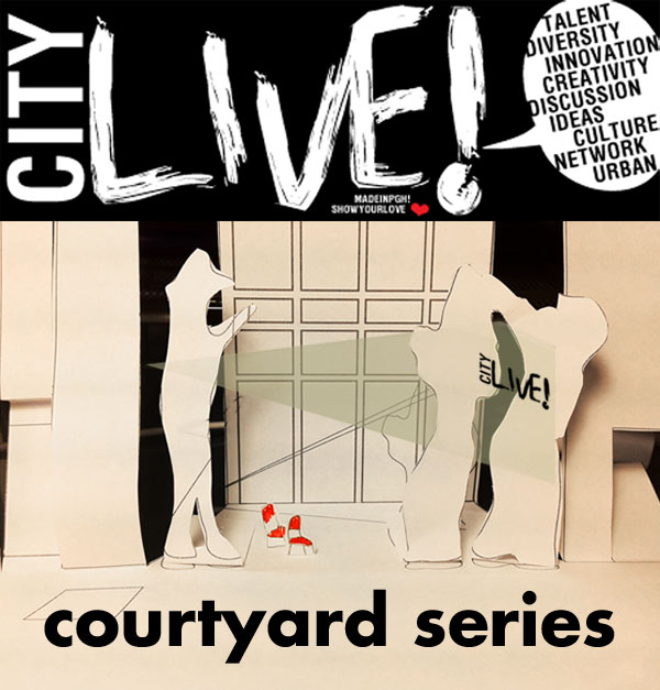 Introducing the cityLIVE! courtyard film series!