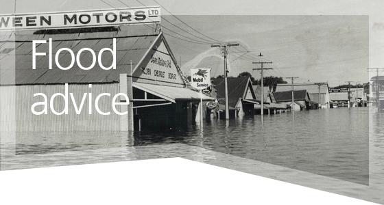 Flood advice