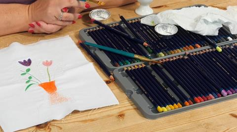 How to use Inktense pencils with Angela Daymond