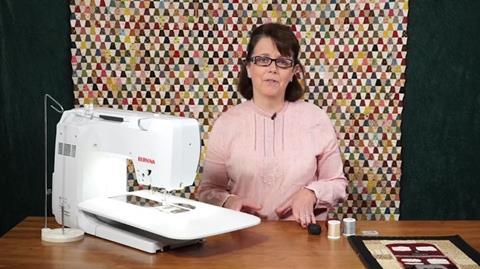 Wool Applique by Machine with Sallieann Harrison
