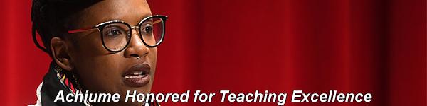 Tendayi Achiume Wins UCLA Distinguished Teaching Award