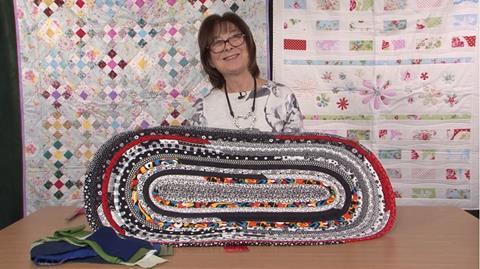 Jelly Roll rug making with Valerie Nesbitt