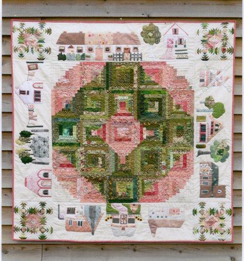 Vintage Village pattern designed by Sue Rhodes