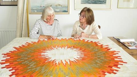 Meet Janet Harker - Textile Artist