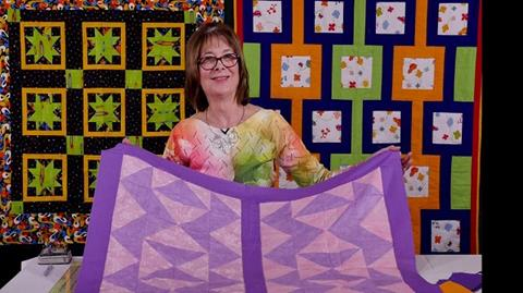 Fool's Puzzle pattern with Valerie Nesbitt