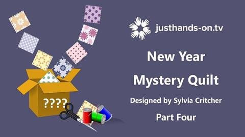 Mystery Quilt with Sylvia - Final part 4