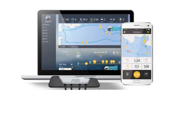 ANGLR IS A FISHING FITBIT FOR YOUR ROD, AUTOMATICALLY RECORDING FISHING STATS