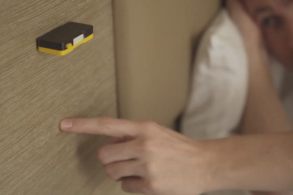 AWESOME ALERT: USING SONAR TO TURN EVERY SURFACE INTO A SMART INTERFACE