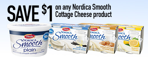 Photo of Nordica Smooth Cottage Cheese Products