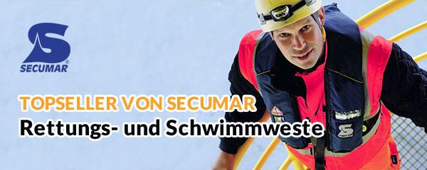Rettungs- und Schwimmweste Topseller von Secumar
