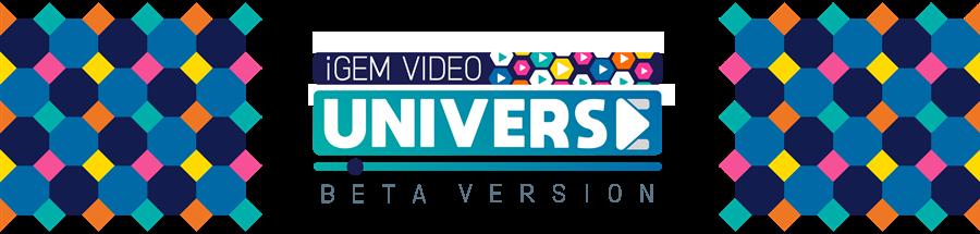 img: iGEM Video Universe beta banner