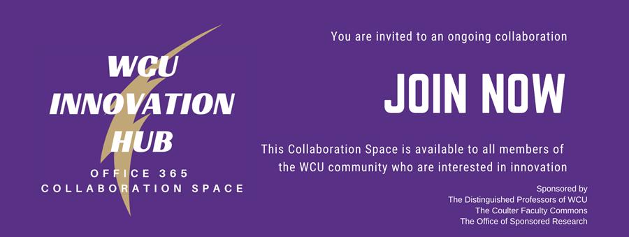 Join the WCU Innovation Hub