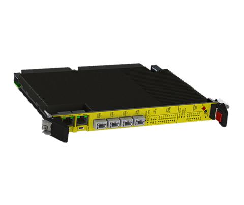 Overview SOSA-Aligned WILDSTAR 3U OpenVPX 100GbE Switch