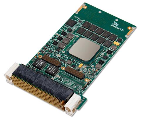 XPedite7670 - Intel Xeon D 3U VPX-REDI Module