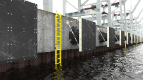 Port-Safety ladder