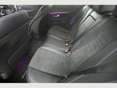 2016 Merc E220d AMG (Rear Seats)