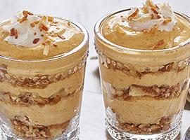 Picture of: Coconut Pumpkin Spice Mini Trifles
