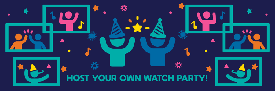 """img: """"Host your own watch party!"""""""