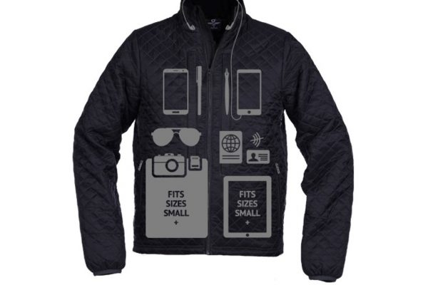 IF YOU NEED A 29-POCKET JACKET WITH 2 LAPTOP COMPARTMENTS, YOU'RE IN LUCK