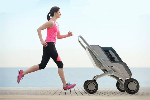 SPENT ENOUGH ON YOUR BABY YET? HERE'S A SELF-DRIVING SMART STROLLER