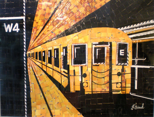 MetroCard Collage