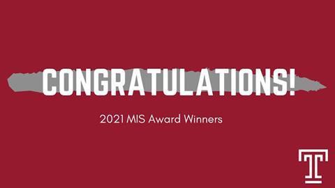 MIS Award Winners