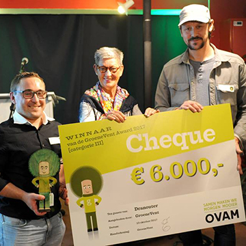 Dranouter wint GroeneVent