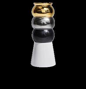 Bianca Ceramic Vase