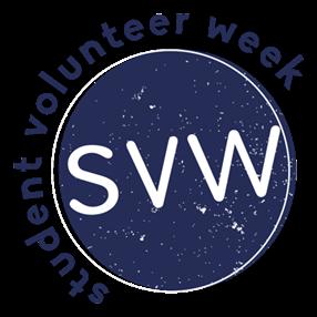 Student Volunteer Week logo