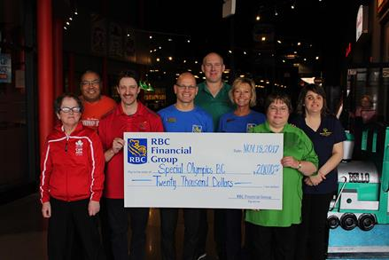 RBC Foundation cheque presentation