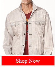 Tribut Apparel - Tribut Jacket (Denim, Unisex)