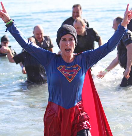 Polar Plunge for Special Olympics BC