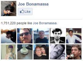 Joe Bonamassa on Facebook. 1,751,220 people like Joe Bonamassa. Yay!