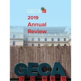 GECA Annual Review